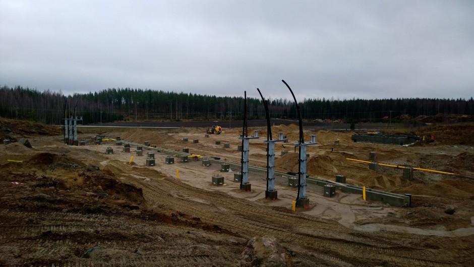Kapulin sähköasema 2013
